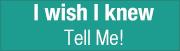 copywriter brisbane TAC i wish i knew tell me