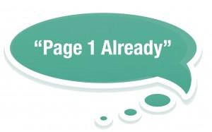 Review copywriter brisbane 1st page already