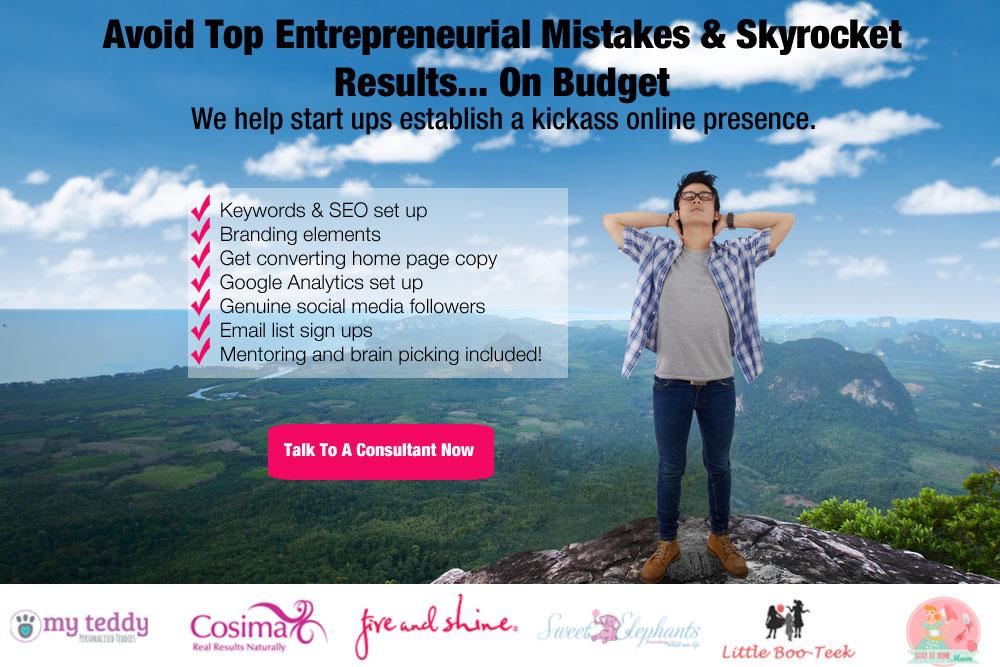 start up digital marketing packages